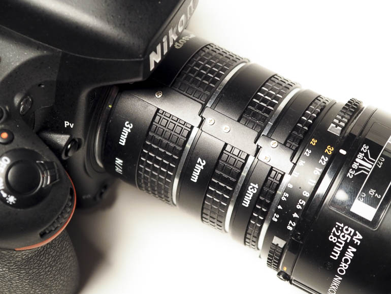 Camera with Extension Tubes