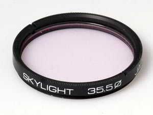 Unbranded 35.5mm Skylight Filter