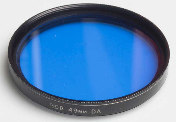 BDB 49mm DA Blue (Filter) £6.00