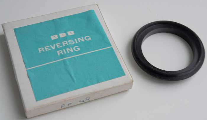 BDB Reverse Ring M42 Screw - 49mm (Lens adaptor) £8.00