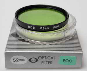 BDB 52mm P00 green (Filter) £8.00