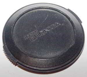 Bronica 62mm Clip-on Front Lens Cap