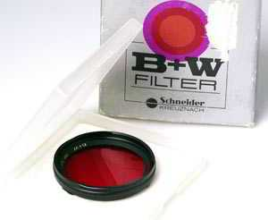 B+W Rollei Bay Deep Red X8 Filter