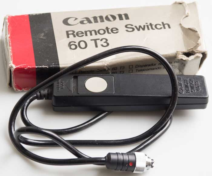 CANON REMOTE SWITCH RS-60T3
