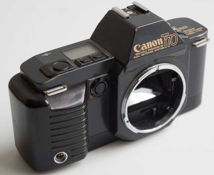 Canon T70  body  (35mm camera) £20.00