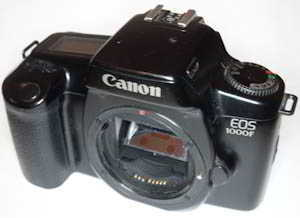 Canon EOS 1000f  body  (35mm camera) £20.00