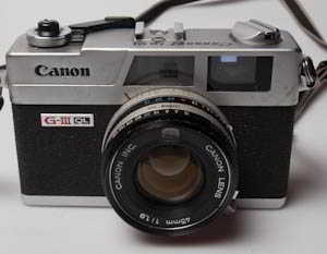 Canon Canonet QL19 G-III (35mm camera) £80.00