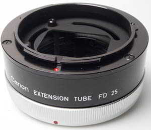 Canon Extension Tube FD 25 (Extension tube) £25.00