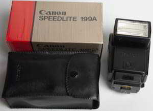 Canon Speedlite 199A (Flashgun) £30.00