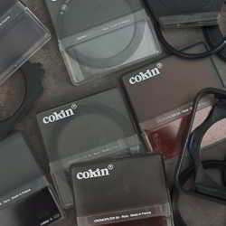 cokin filters and adaptors for sale