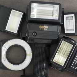 portable flashguns for sale