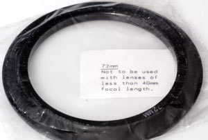 Cokin 72mm Filter holder adaptor  A-series  Lens adaptor