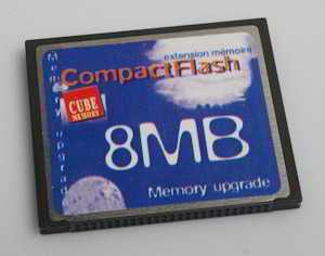 Dane Elec 8Mb CompactFlash  (Memory card) £2.00
