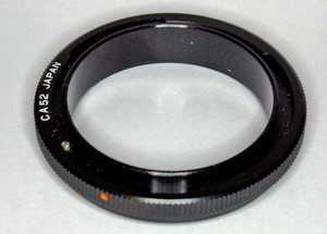 Unbranded Reverse Ring Canon FD - 52mm (Lens adaptor) £12.00