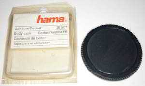 Hama Contax Yashica bayonet Body cap