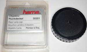 Hama Pentax PK Rear Lens Cap