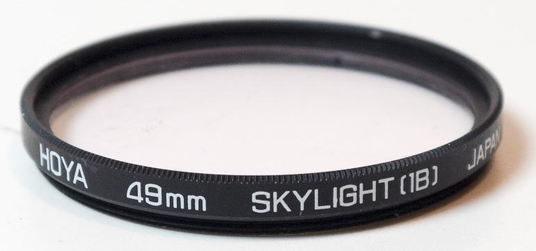 Hoya 49mm Skylight 1B Filter