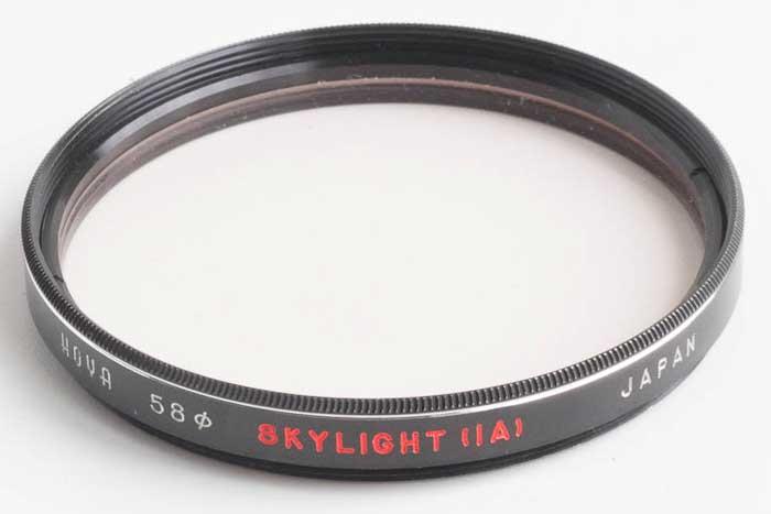 Hoya 58mm Skylight 1A Filter