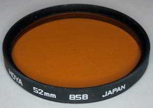 Hoya 52mm 85B Colour Conversion Filter