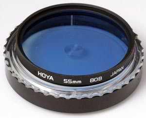 Hoya 55mm 80B Blue Filter