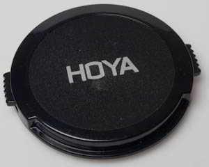 Hoya 55mm clip on plastic Front Lens Cap