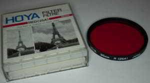 Hoya 55mm R 25A red Filter