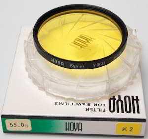 Hoya 55mm Y (K2) yellow Filter