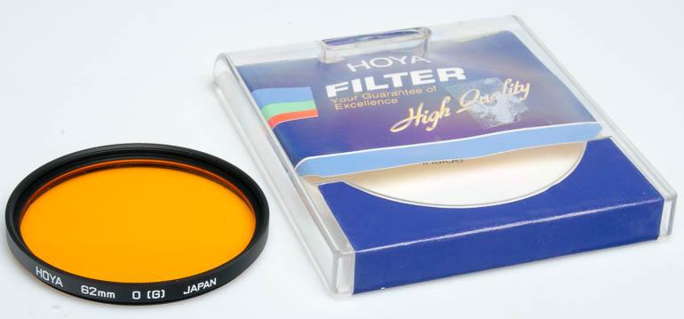 Hoya 62mm O orange Filter