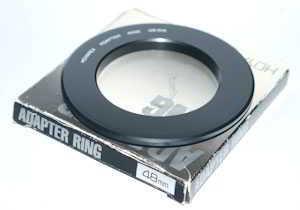 Hoyarex 48mm Filter Adaptor  Lens adaptor