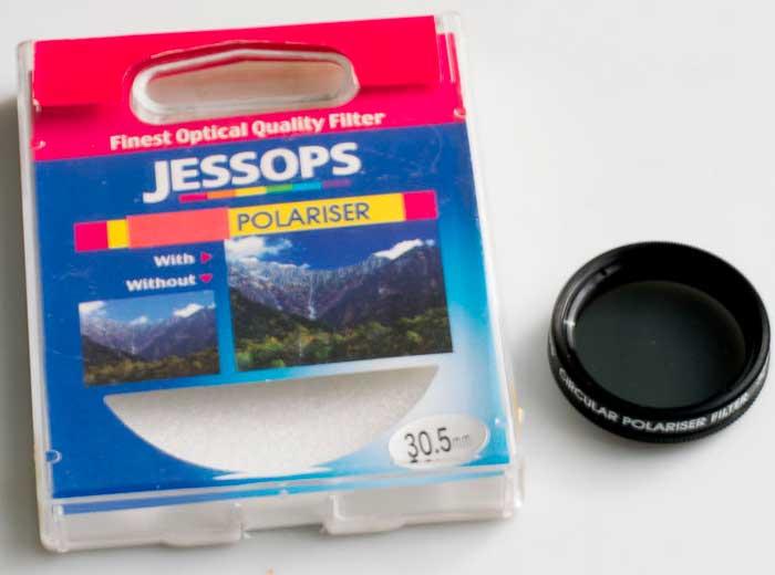 Jessops 30.5mm circular polarising Filter