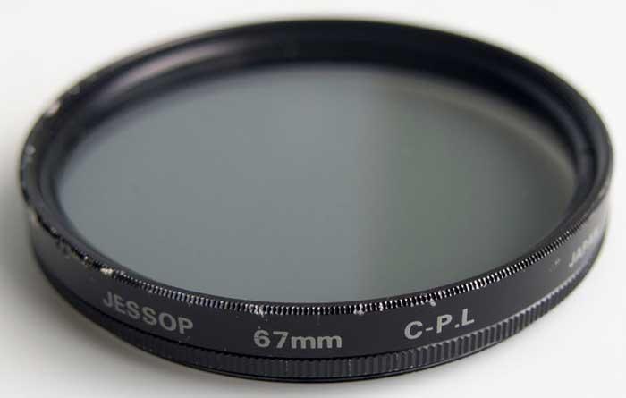 Jessops 67mm Linear polarising Filter