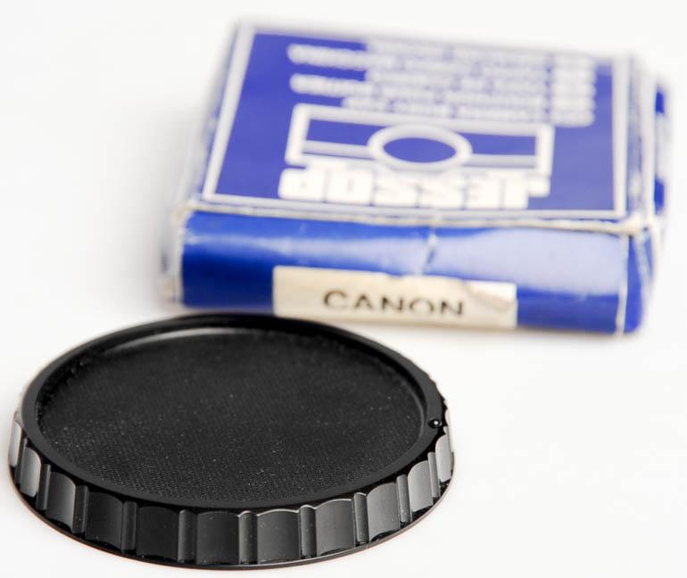 Jessops Canon FD Body cap