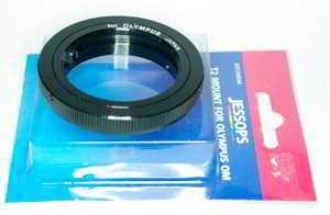 Jessops Olympus OM T2 Mount Lens adaptor