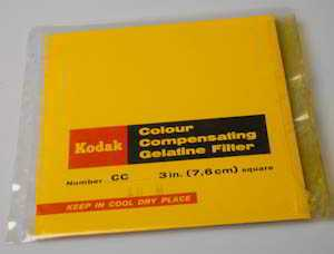Kodak Wratten CC10M Magenta gelatin filter 75mm square  (Filter) £5.00