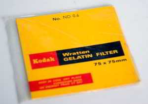 Kodak Wratten ND 0.6 gelatin filter 75mm square  (Filter) £20.00