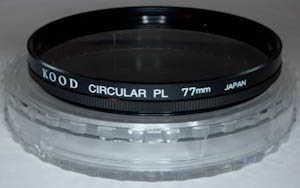 Kood 77mm circular polarising Filter