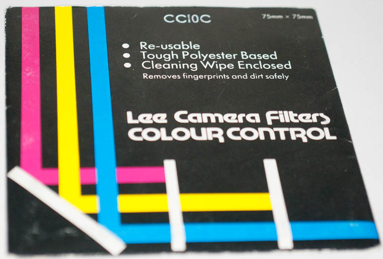 Lee 75mm square CC10C Polyester Filter (Filter) £4.00