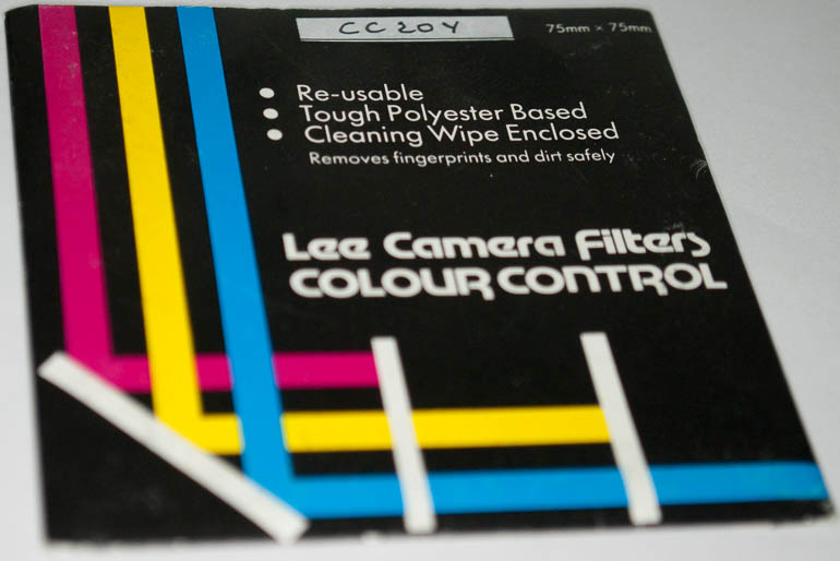 Lee 75mm square CC20Y Polyester Filter (Filter) £4.00