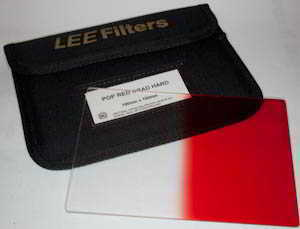 Lee 100x150  Pop Red Grad Hard (Filter) £25.00