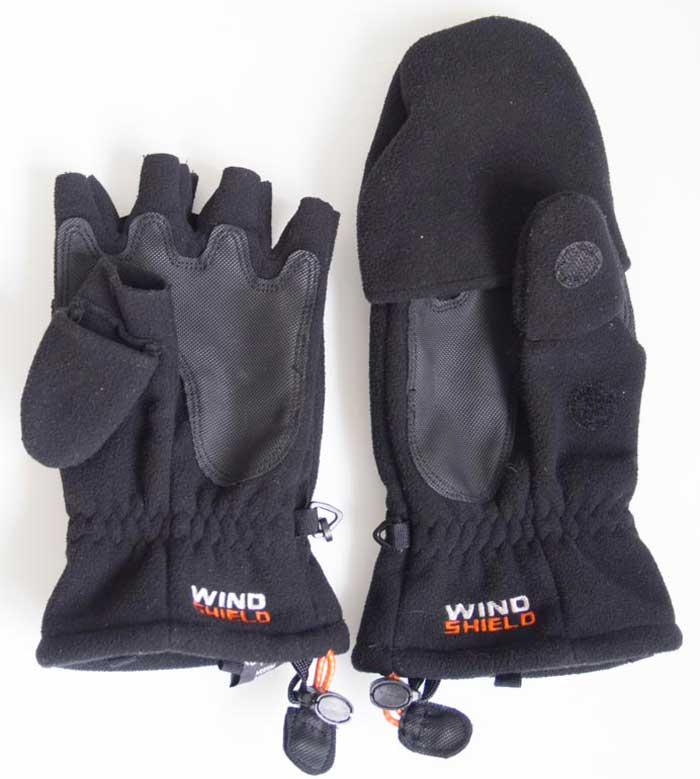 Lowe-alpine Convert Mitten Glove (Photography Clothing) £20.00