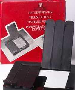 Test strip printer apologise