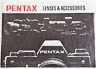 Pentax Lenses & Accessories (Instruction manual) £4.00