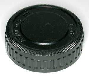 Pentax Asahi Opt Co PK plastic   Rear Lens Cap