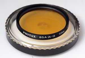 Photax 55mm 85a orange Filter