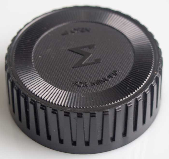 Sigma Minolta MD Rear Lens Cap