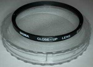 Sigma 72mm Close Up lens Filter