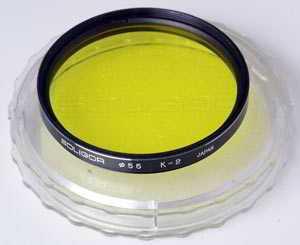 Soligor 55mm Yellow  Filter