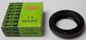 Soligor Canon FD T2 Mount Lens adaptor