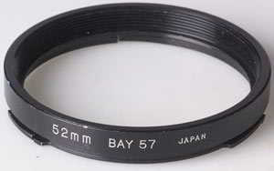 Unbranded B57(Hasselblad B50) - 52mm (Stepping ring) £5.00