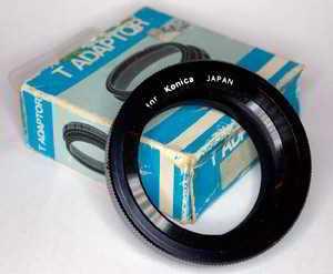 Unbranded Konica T2 Mount Lens adaptor